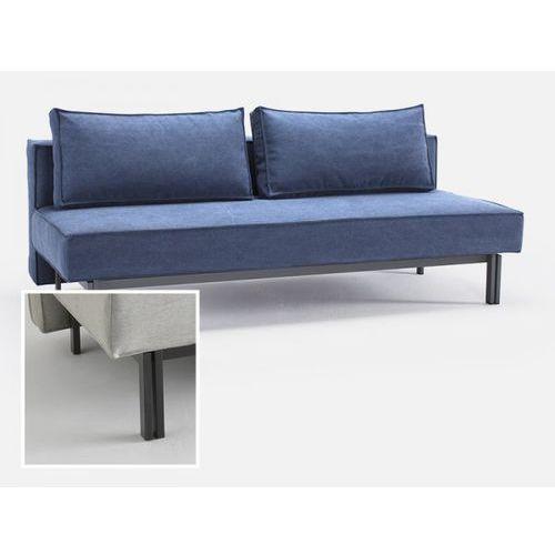 Sofa Sly niebieska 574 nogi czarny mat  543071CN574574-02-543070-2, INNOVATION iStyle