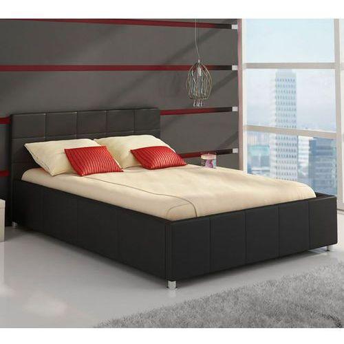 CARMEN łóżko tapicerowane 180x200 pojemnik - 180 x 200 z pojemnikiem ze sklepu Meble Pumo