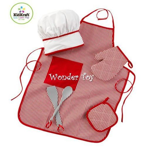Ubiór Kucharski Kidkraft - tasty treats chef accessory set red 63197 oferta ze sklepu Kidkraft®