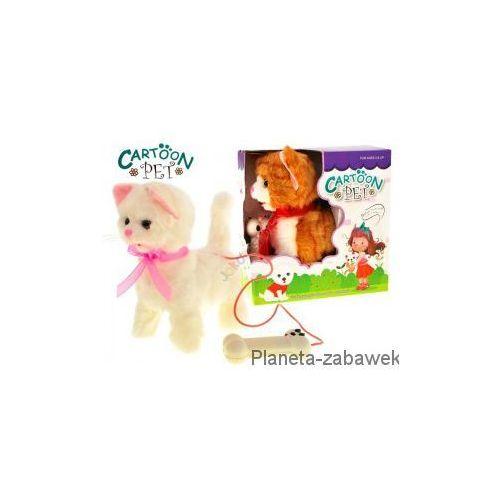 INTERAKTYWNY KOTEK CHODZI NA SMYCZY MIAUCZY - produkt dostępny w Planeta-zabawek.com.pl