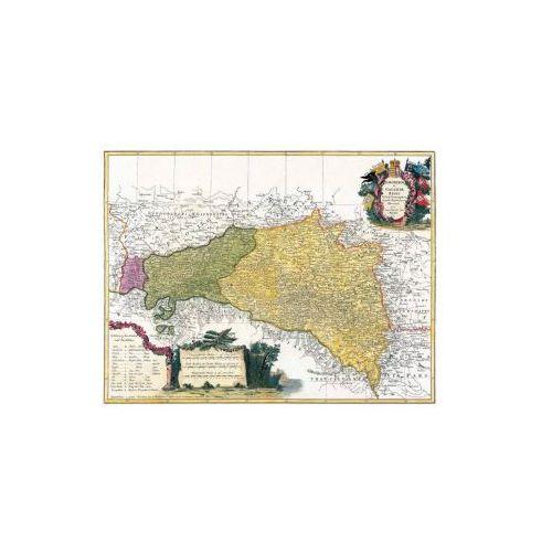 Mapa Galicji i Lodomerii wydana przez spadkobierców J.B. Homanna w 1775 r., produkt marki Golden Maps Publishing