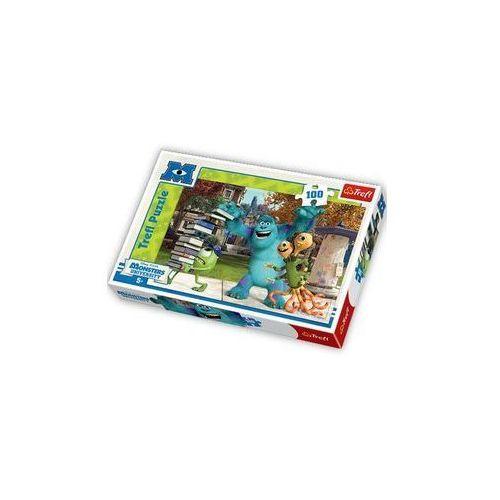 Trefl - Uniwersytet Potwornicki - puzzle, 100 elementów z kat.: dłutownice