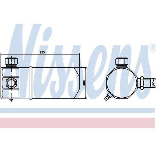 Towar z kategorii: osuszacze powietrza - Osuszacz, klimatyzacja NISSENS 95137