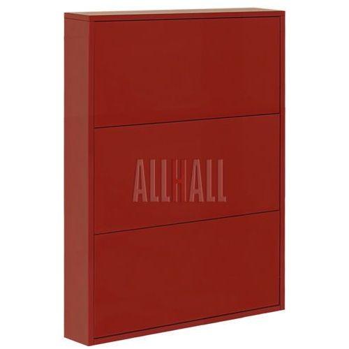 Szafka na buty SLIM FLASH F-SLB38 - czerwony, marki AllHall do zakupu w Meble Pumo