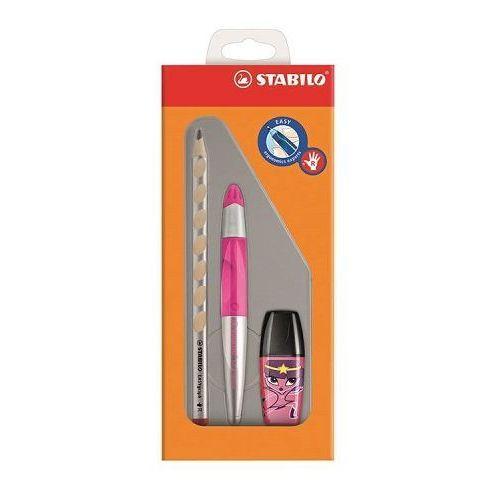 Zestaw STABILO EasyErgonomics Experts dla praworęcznych w kolorze różowym - oferta [0564eb008112e39e]