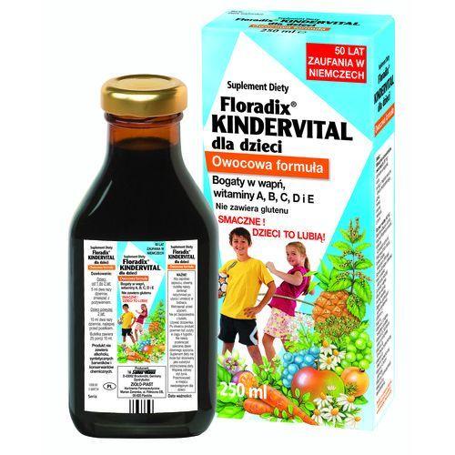 Floradix kindervital tonik dla dzieci 250 ml, postać leku: płyn