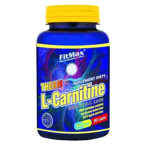 L-carnitine therm 90 kaps. / dostawa w 12h / negocjuj cenę / dostawa w 12h wyprodukowany przez Fitmax