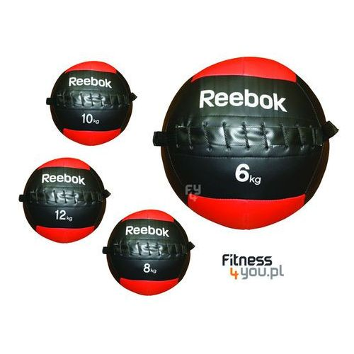 MIĘKKA PIŁKA LEKARSKA REEBOK 8KG RSB-10182 :: POLECANY SPRZEDAWCA :: TEL 801000505 :: www.aerobik.fitness, produkt marki Reebok Professional