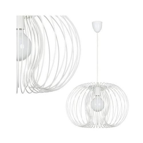 Dekoracyjna LAMPA wisząca OPRAWA z drutu DO salonu AGADIR Nowodvorski 5300 biały - sprawdź w MLAMP.pl - Rozświetlamy Wnętrza