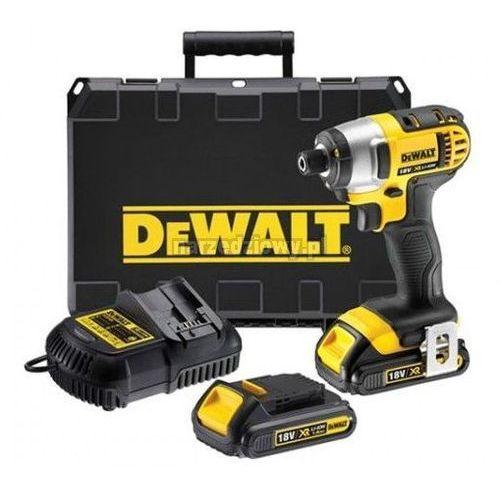 Produkt DEWALT Kompaktowa zakrętarka udarowa XR 18 V (2 akumulatory Li-Ion 2,0 Ah) DCF886D2 10 urodziny Narzedziowy.pl Wielkie obniżki