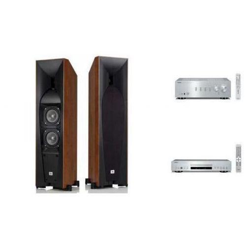 YAMAHA A-S301 + CD-S300 + JBL STUDIO 580 S HIFI - wieża, zestaw hifi - zmontuj tanio swój zestaw na stronie