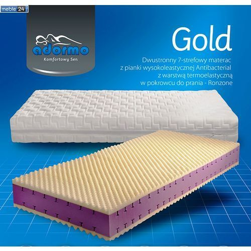 Produkt MATERAC Piankowy 7 strefowy - GOLD TERMOELASTYCZNA, marki Meble24