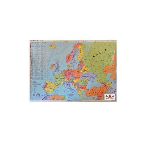 Produkt Europa polityczna 1:4 000 000. Mapa ścienna, marki Meridian