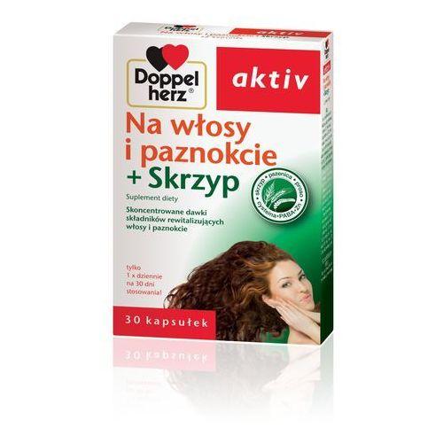 Doppelherz Aktiv wł.i paz.+skrzyp 30kaps*K, postać leku: kapsułki