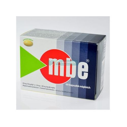 MBE kaps.x 60, postać leku: kapsułki