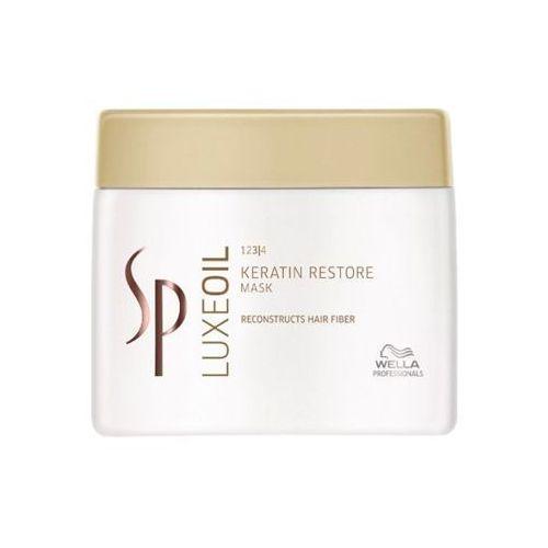 Wella SP LUXE OIL KERATIN RESTORE Keratynowa maska odbudowująca włosy (400 ml) - produkt z kategorii- odżywki do włosów