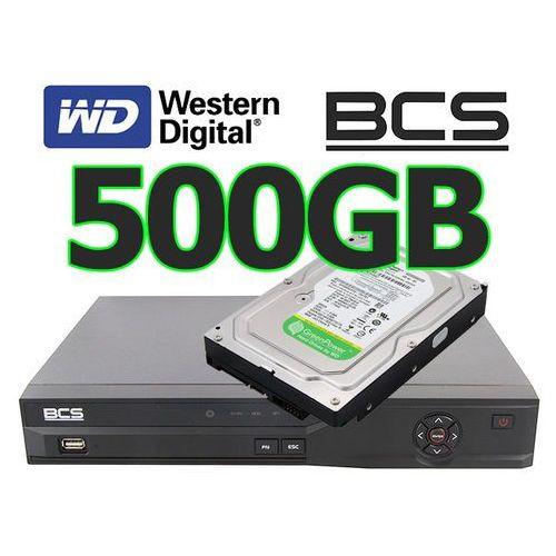 Rejestrator cyfrowy hybrydowy Analogowy IP Sieciowy BCS-DVR0401QE-III +dysk 500GB