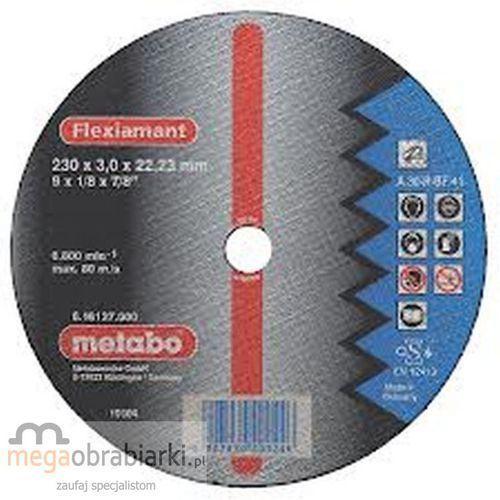 Oferta METABO Tarcza tnąca do stali 115 mm (25 szt) Flexiamant A 30-R wypukła RATY 0,5% NA CAŁY ASORTYMENT DZWOŃ 77 415 31 82