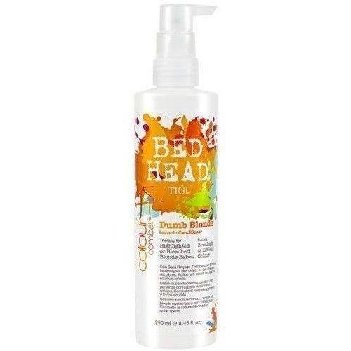 Produkt z kategorii- odżywki do włosów - Tigi Bed Head Combat Dumb Blonde Leave In Conditioner 250ml W Odżywka do włosów Do blond włosów + Próbka perfum GRATIS + Wysyłka od 6zł!