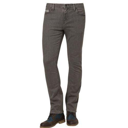Produkt z kategorii- spodnie męskie - Vans Jeansy Slim fit szary