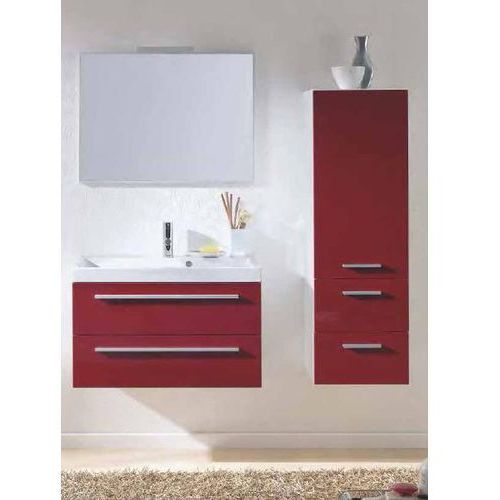 Produkt z kategorii- regały łazienkowe - ELITA KWADRO słupek 399x354x1250, red 162334