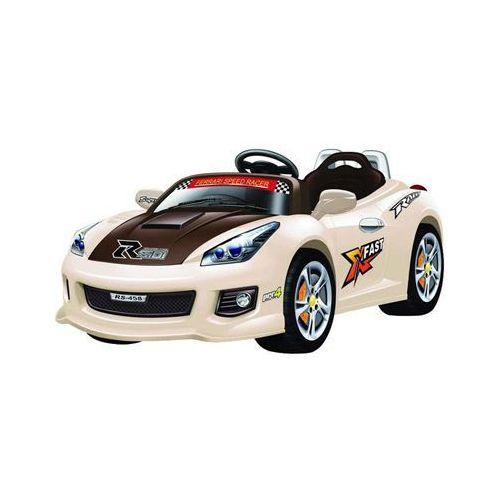 Pojazd dla dzieci na akumulator Alexis beżowy ze sklepu Pieluchowo.com