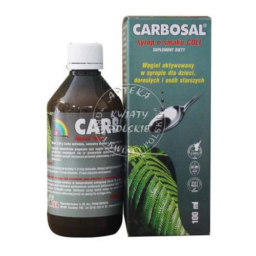 Carbosal syrop 100 g (carbo activ.) - produkt farmaceutyczny