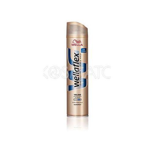 Produkt z kategorii- pozostałe kosmetyki do włosów - Wellaflex Volume (Większa Objętość) Lakier, 250 ml