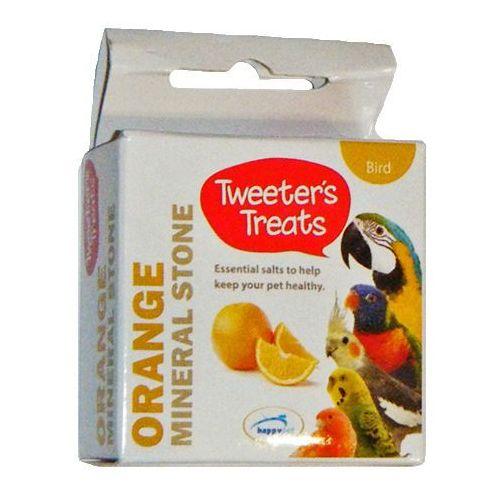 Doskonałe wapno mineralne dla ptaków o smaku pomarańczy