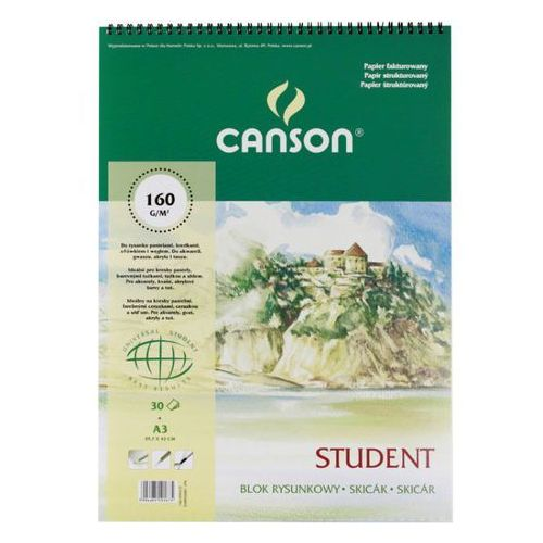 Oferta Szkicownik Canson Student A3/30k. 6666181 [a5ed662ad585e27f]