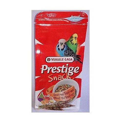Prestige Snack Budgies 125g przysmak z biszkoptami i owocami dla papużek falistych