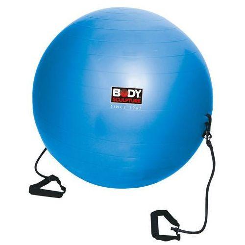 Produkt BODY SCULPTURE BB 001TR - Piłka gimnastyczna antiburst z gumami fitness