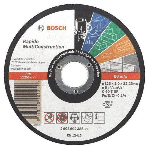 TARCZA FLEX 41 115x1,0x22,2 C 60 TBF RAPIDO MULTI CONSTRUCTION BOSCH ze sklepu narzedzia-online.pl