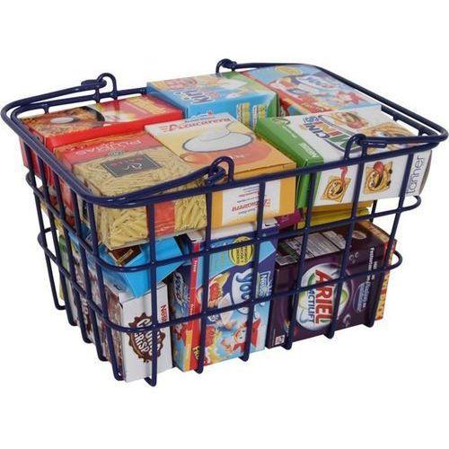 Metalowy koszyk do zabawy z wyposażeniem oferta ze sklepu www.epinokio.pl