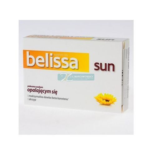 Belissa Sun 30 draż., postać leku: drażetki