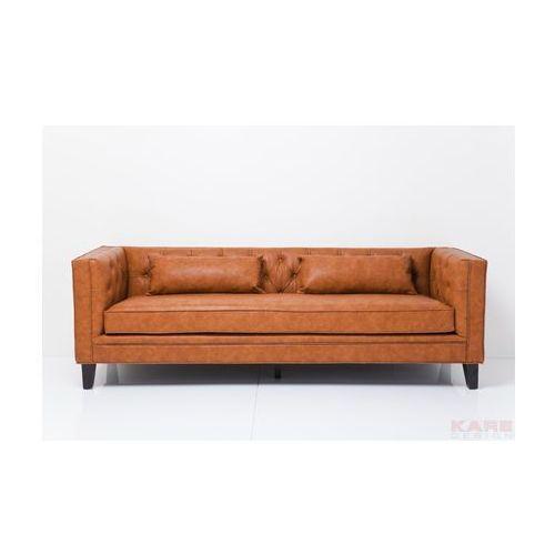 Texas Sofa Brązowa 3 Osobowa 219 cm - 78586, Kare Design
