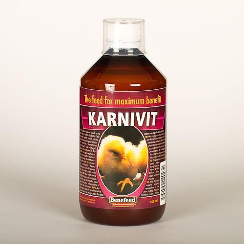 KARNIVIT (AQUAKAR D) -500 ml - POPRAW EFEKTYWNOŚC LĘGÓW