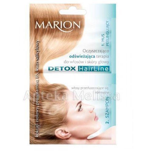 Produkt z kategorii- pozostałe kosmetyki do włosów - MARION Oczyszczająco-odświeżająca terapia do włosów i skóry głowy - 13 ml + 10 ml