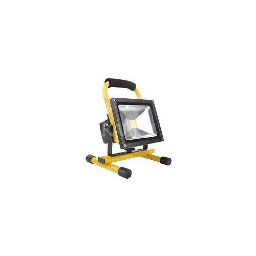 Whitenergy  Naświetlacz LED 20W|6000K|1600lm|IP65| na stojaku z kat. pozostałe oświetlenie zewnętrzne
