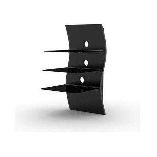 Półka RTV Nikea - Ni04 czarna z kategorii półki rtv