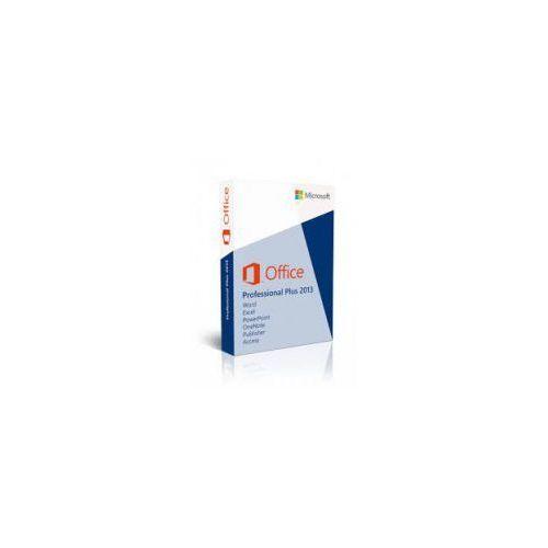 Artykuł Microsoft Office Professional Plus 2013 32/64-bit PL z kategorii programy biurowe i narzędziowe