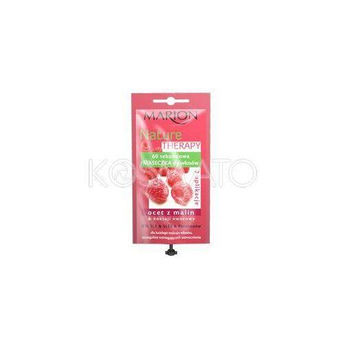 Produkt z kategorii- pozostałe kosmetyki do włosów - Marion Nature Therapy 60 sekundowa maseczka, 15 ml