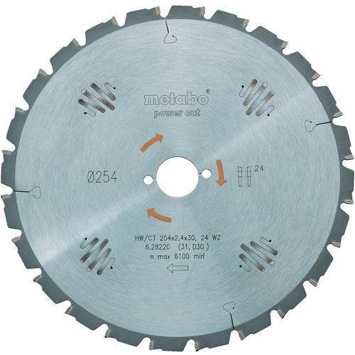 Oferta Tarcza tnąca Metabo HW/CT 315X30 48 WZ, 315 x 30 mm, 48 z/cal, gr. 1,8 mm