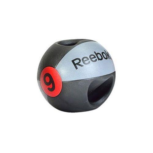 Piłka lekarska 9 kg (z uchwytem) RSB-10129, produkt marki Reebok