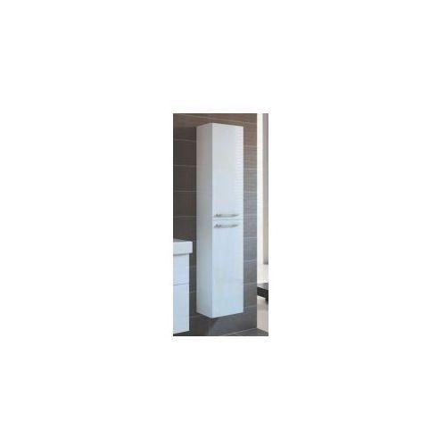 Szafka Elita Barcelona 30 słupek 2D biała 164345 - produkt z kategorii- regały łazienkowe