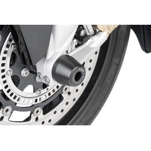 Protektory osi koła przedniego PUIG do BMW S1000 RR 09-14 / S1000R 14-15 z kategorii crash pady motocyklowe