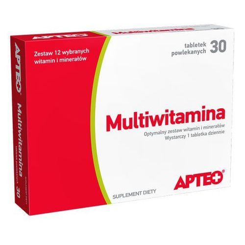 Multiwitamina Apteo tabl. 30 tabl., postać leku: tabletki
