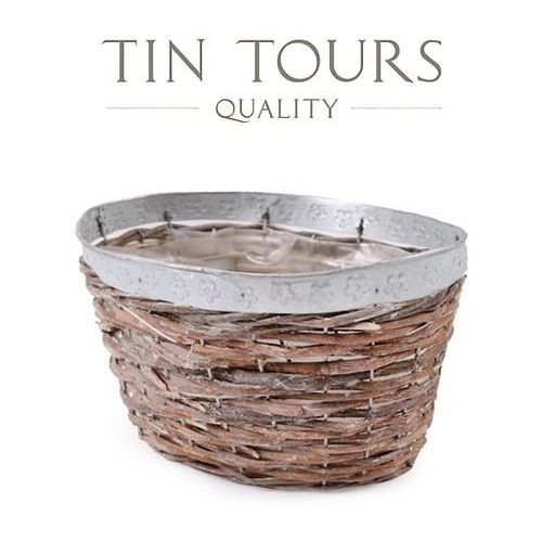 Produkt OWALNA OSŁONKA WIKLINOWA 24x18x15 cm, marki Tin Tours Sp.z o.o.