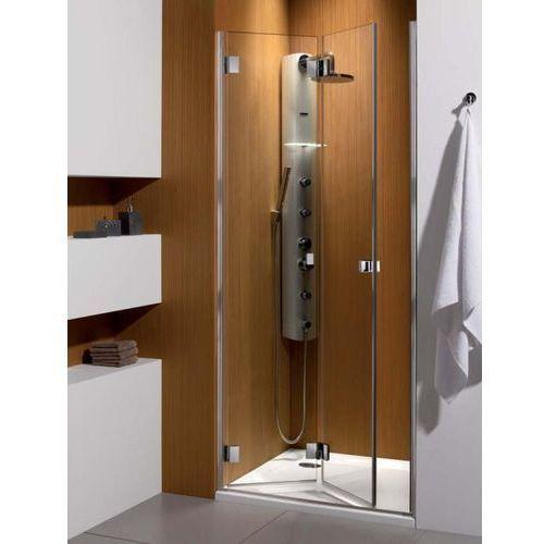 Carena DWB Radaway drzwi wnękowe 793-805x1950 chrom szkło przejrzyste lewe - 34512-01-01NL (drzwi prysznicow