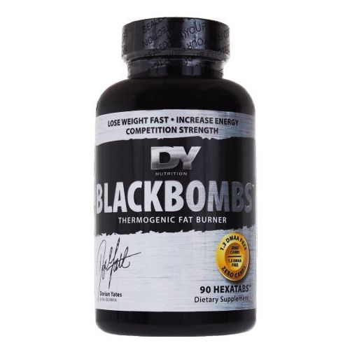black bombs dmaa free - 90 tabl. wyprodukowany przez Dorian yates